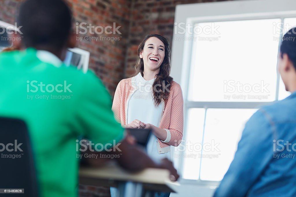 I'm pleased to present to all of you today stock photo