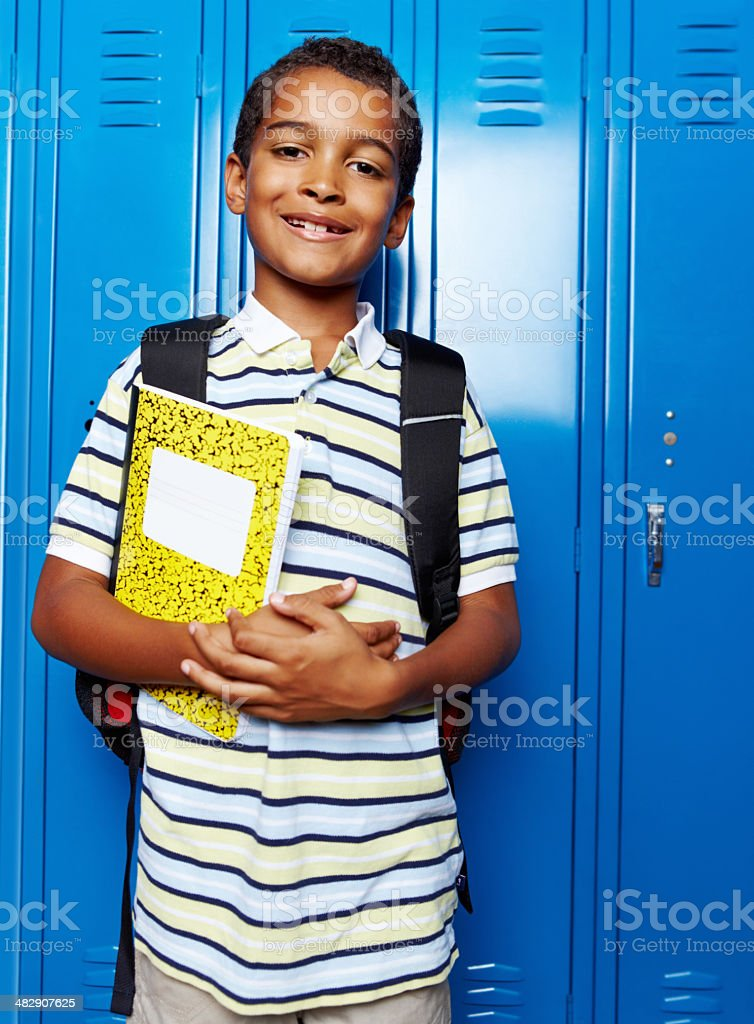 I'm prepared and ready to learn! royalty-free stock photo