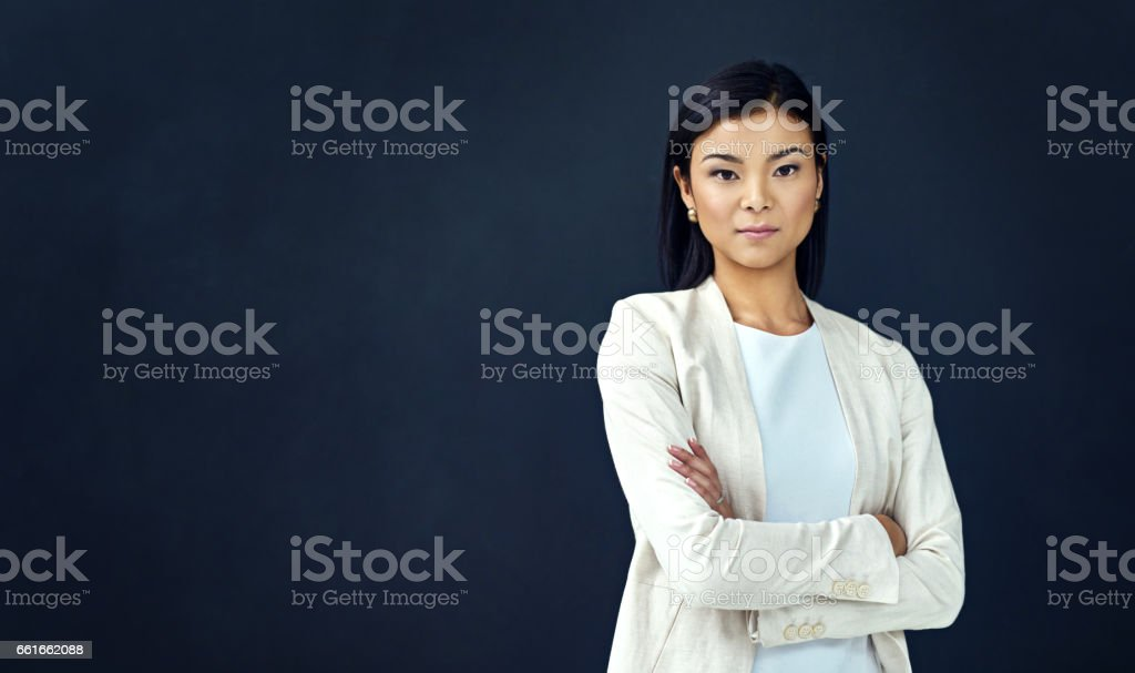 I'm ready for the business world stock photo