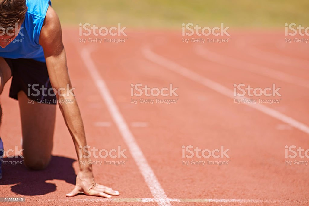 I'm ready for this! stock photo