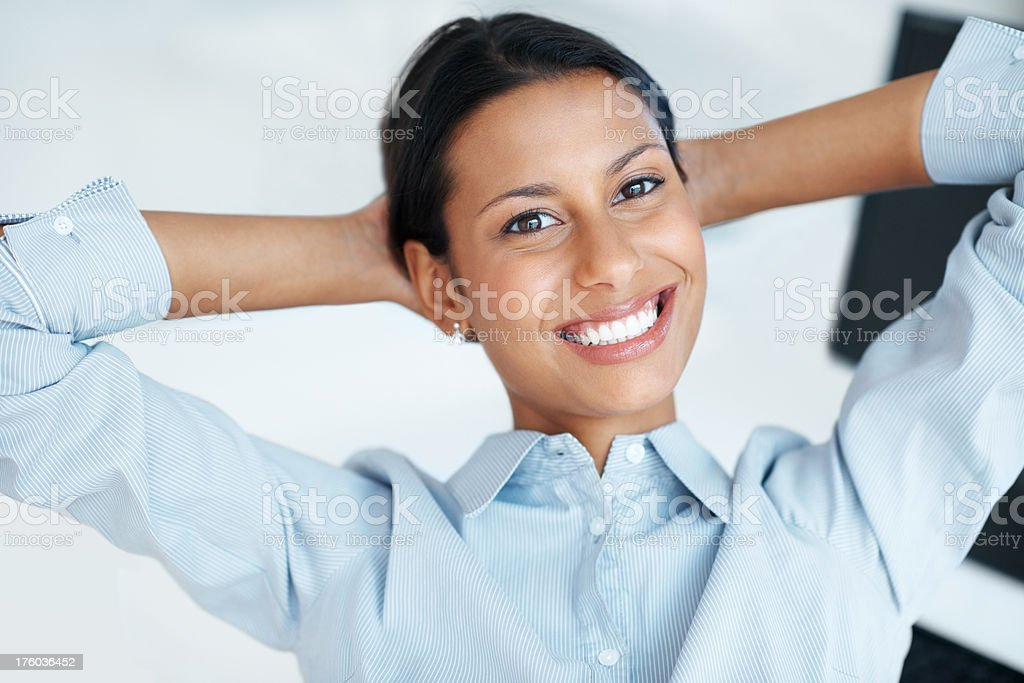 I'm reaping the rewards of giving it my best stock photo