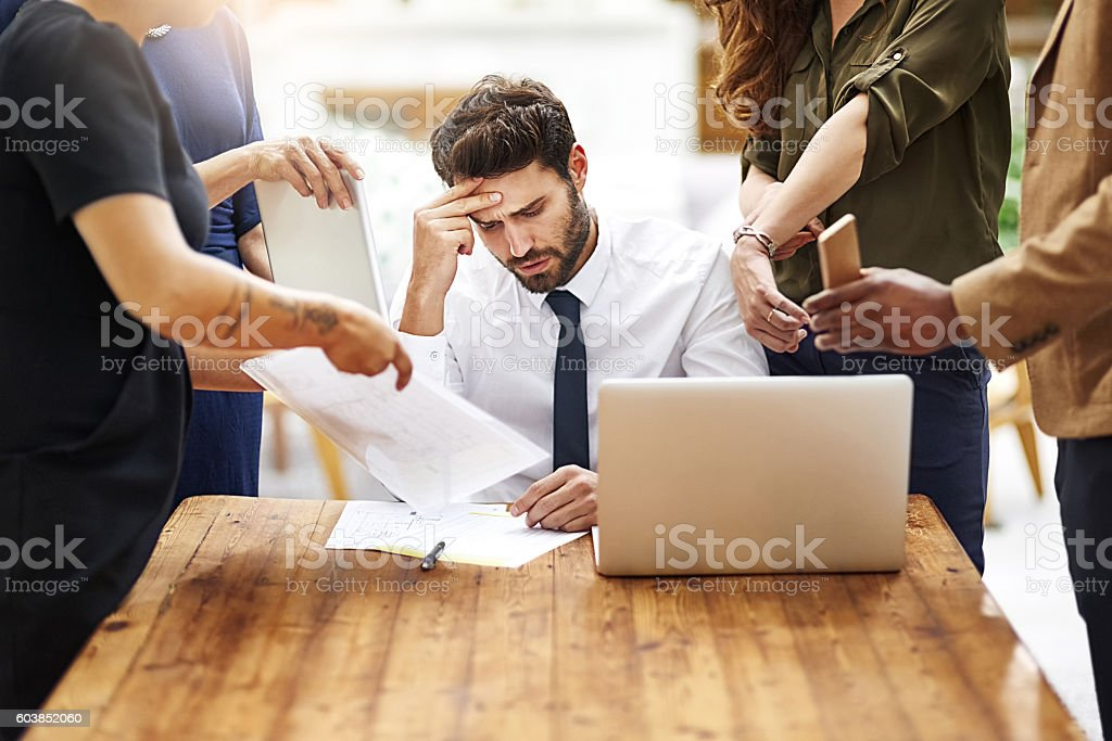 I'm seriously so stressed out right now stock photo