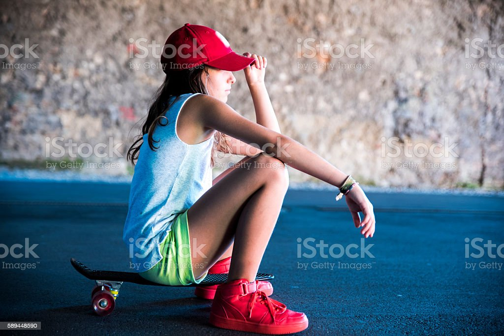 I'm so cool! stock photo