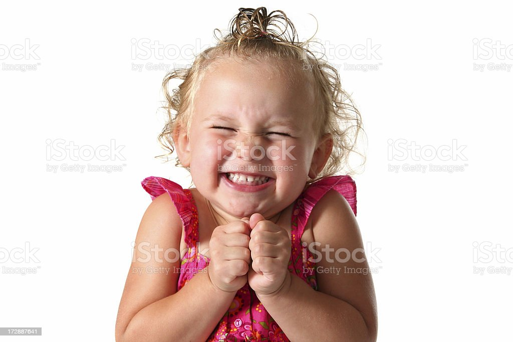 I'm So Excited! royalty-free stock photo