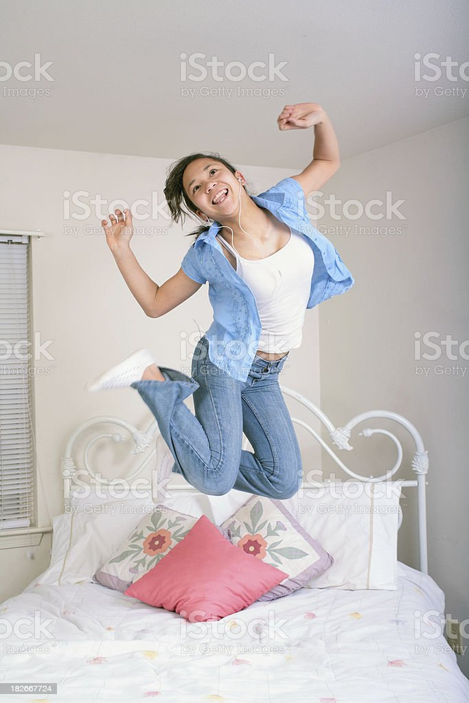 I'm So Excited royalty-free stock photo