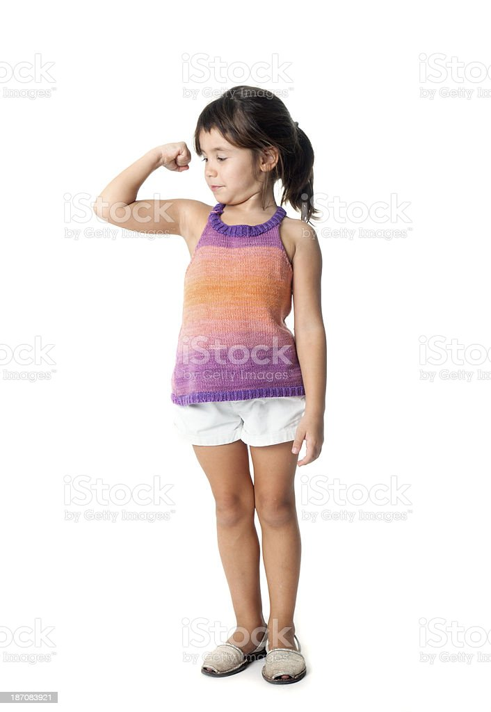 I'm so strong stock photo