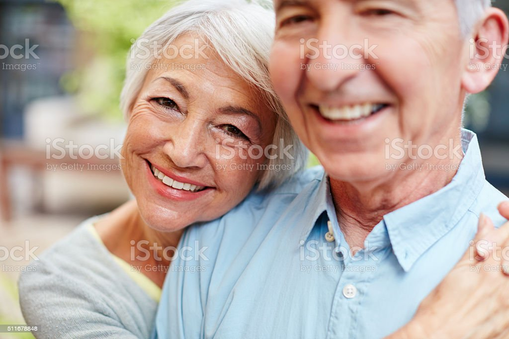 I'm still hopelessly in love with my husband stock photo