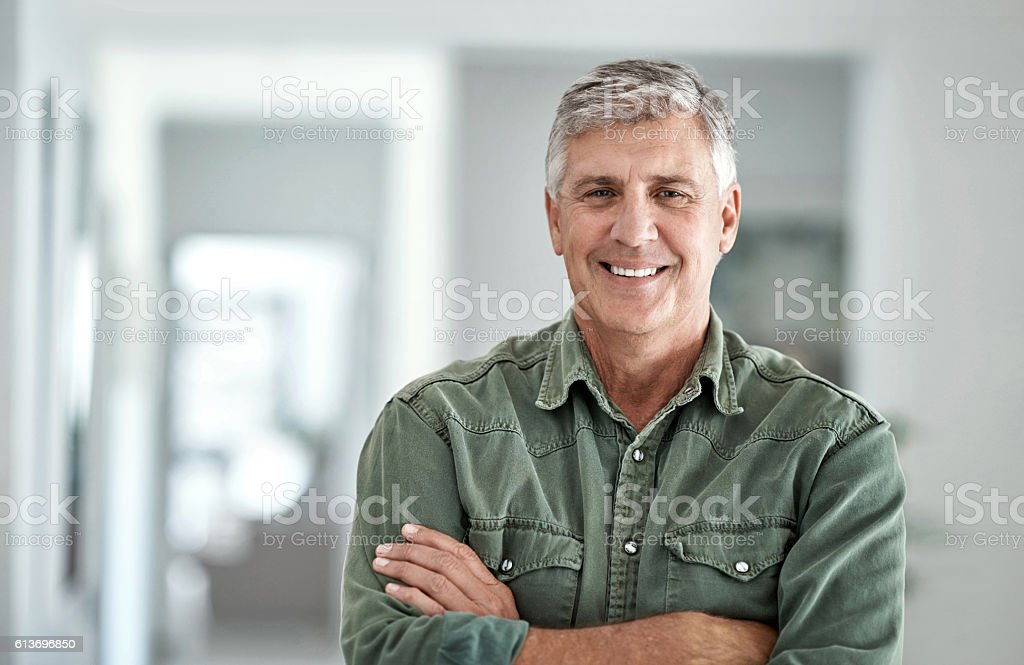 I'm still in the prime of my life stock photo