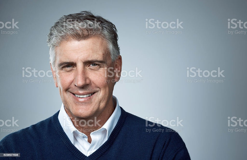 I'm sure of who I am stock photo