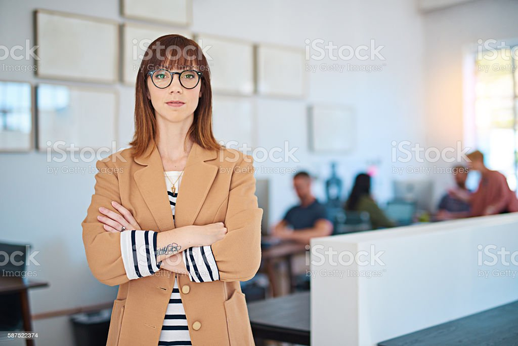 I'm the best and that's a fact stock photo