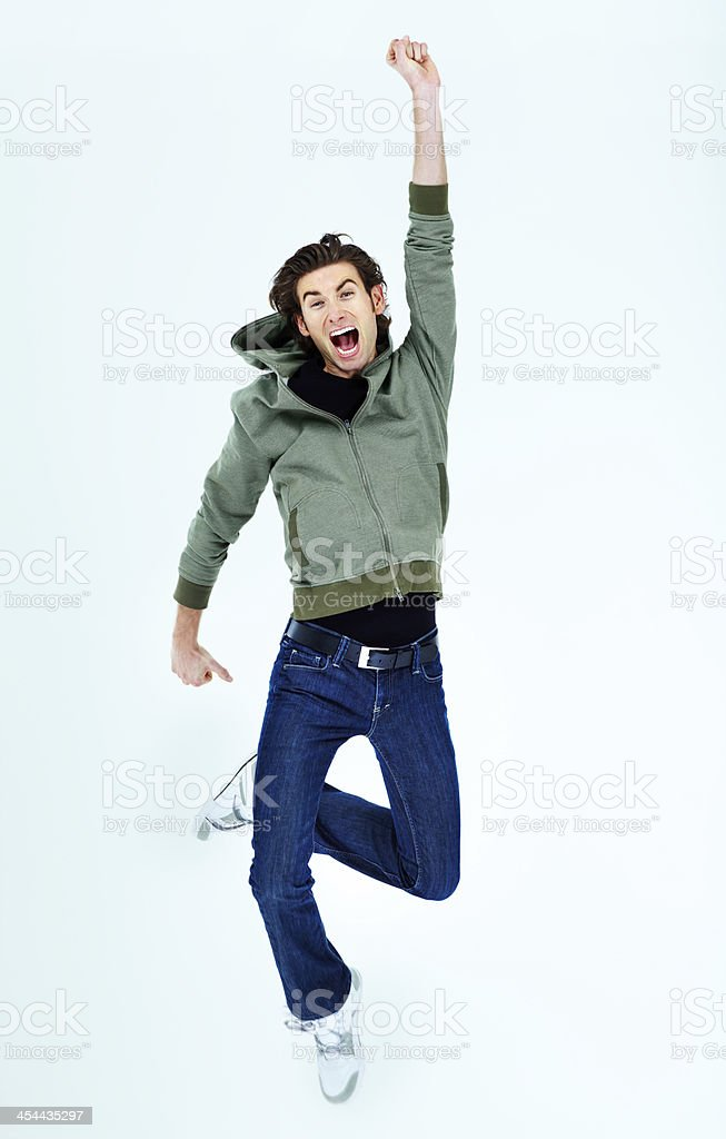 I'm the best! stock photo