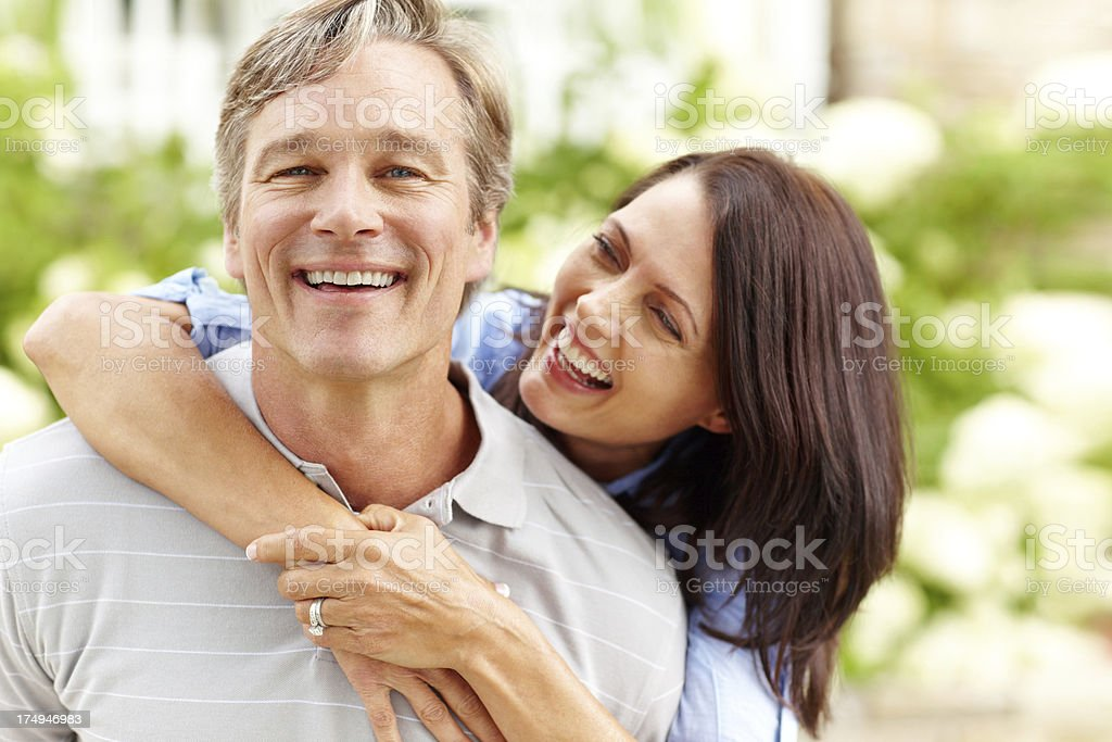 I'm the focus of her loving attention royalty-free stock photo