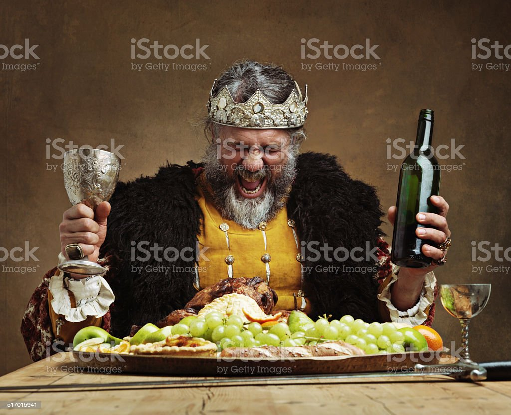 I'm the life of the party! stock photo