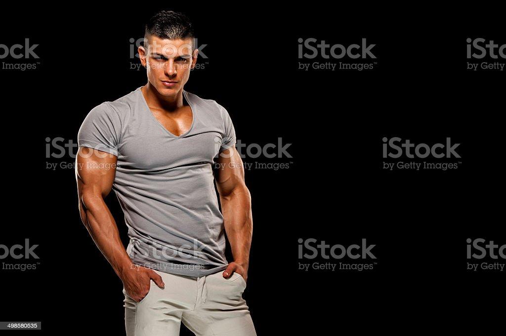 I`m the Men royalty-free stock photo