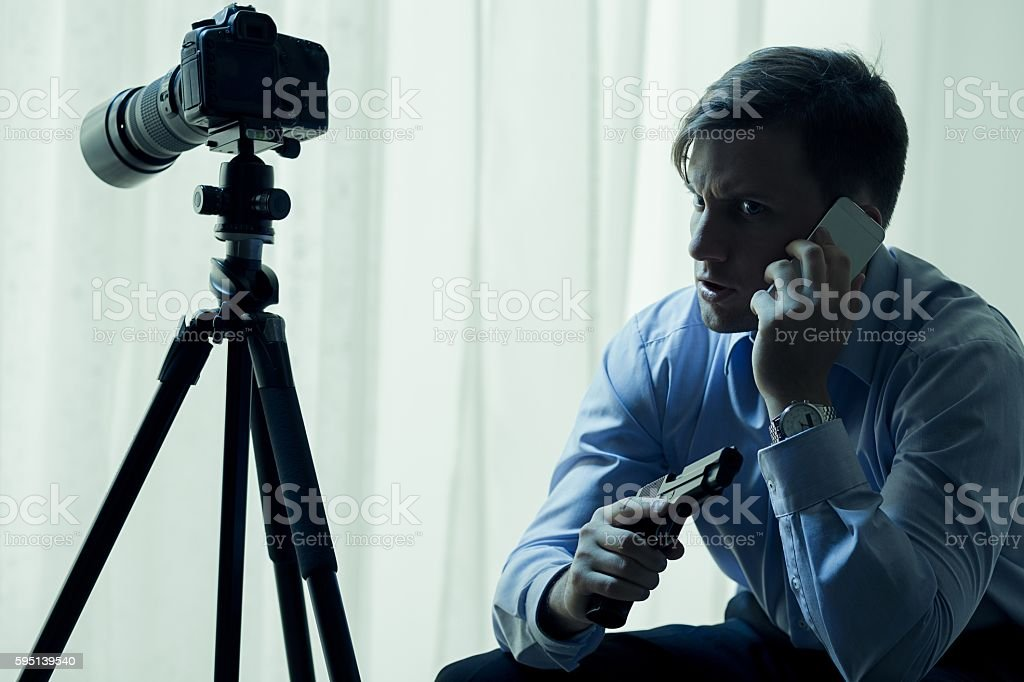 I'm waiting for order to shoot stock photo