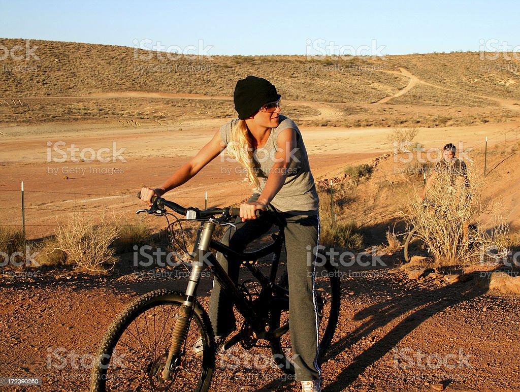 I'm waiting on you! (Utah RedRockalypse) stock photo