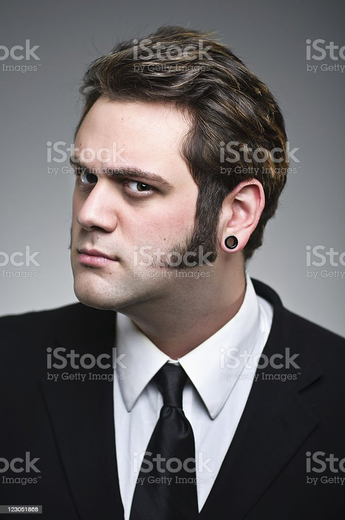 I'm Watching You Portrait royalty-free stock photo