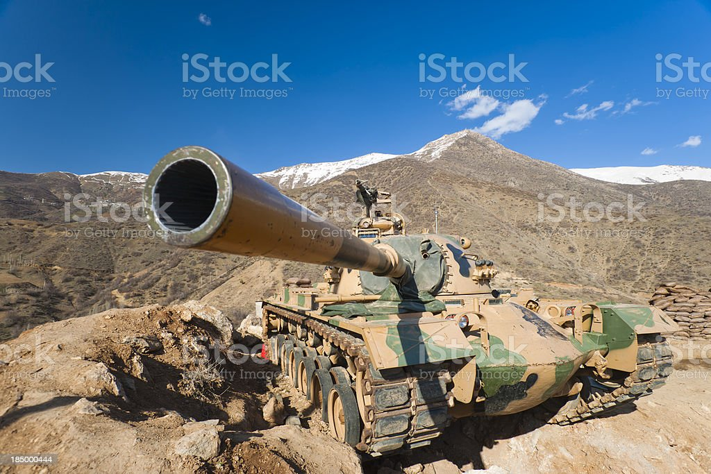 M-60Army Tank stock photo