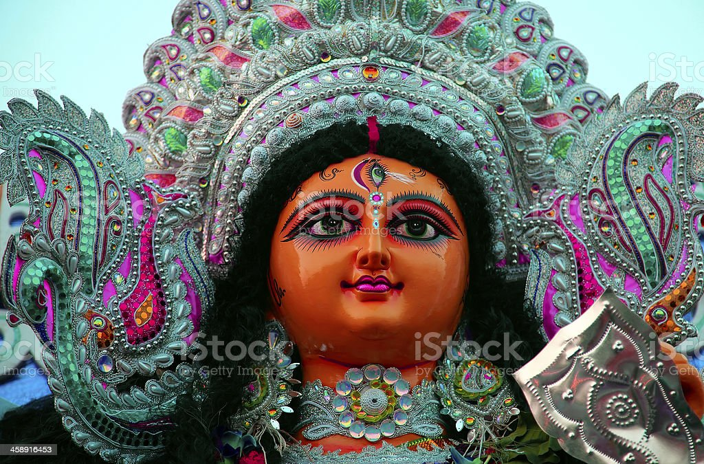 Maa Durga stock photo