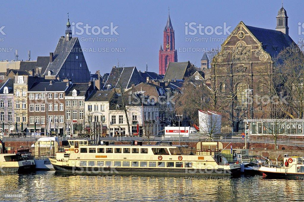 Maastricht cityscape stock photo