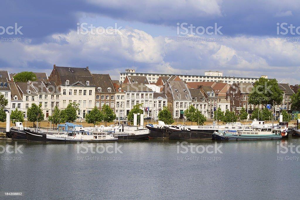 Maastricht, The Netherlands stock photo