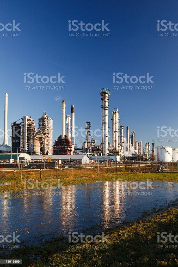 Maasvlakte Industries stock photo