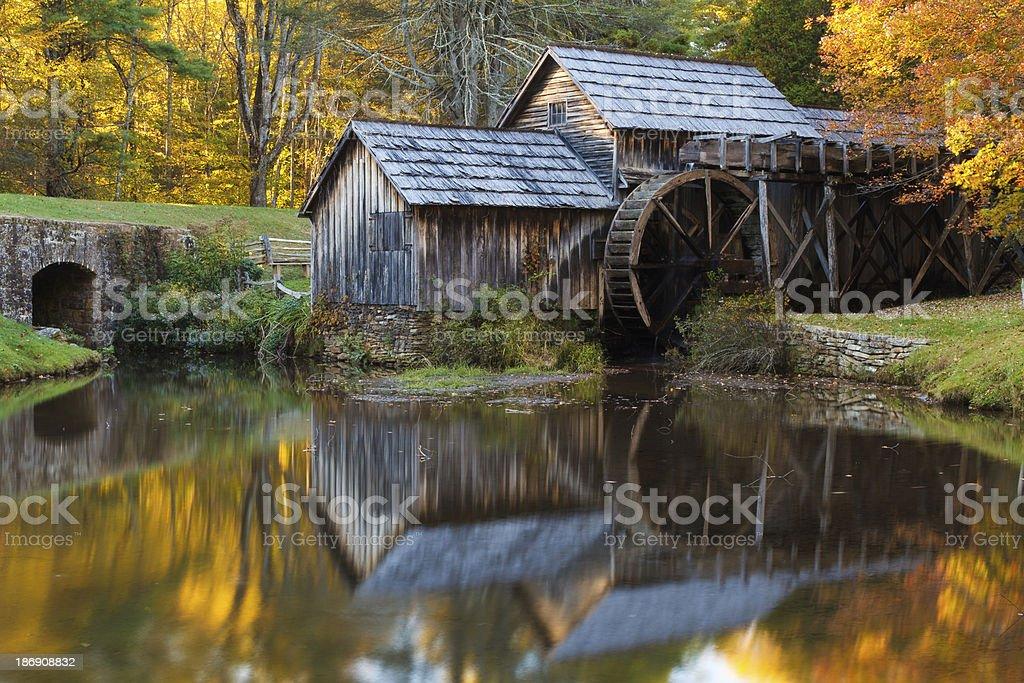 Mabry Mill, Blue Ridge Parkway stock photo