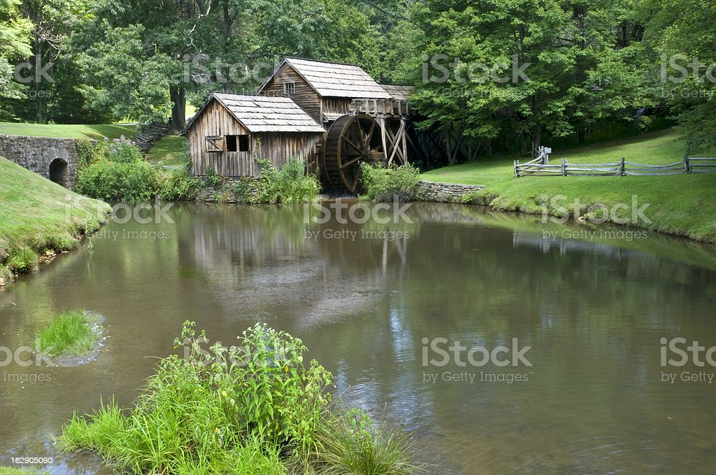 Mabry Mill royalty-free stock photo