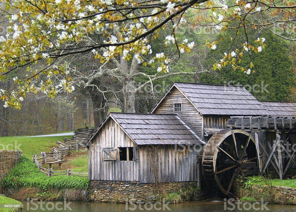 Mabrys Mill stock photo