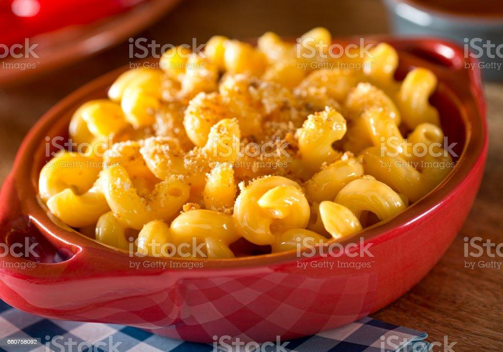 Mac and Cheese stock photo