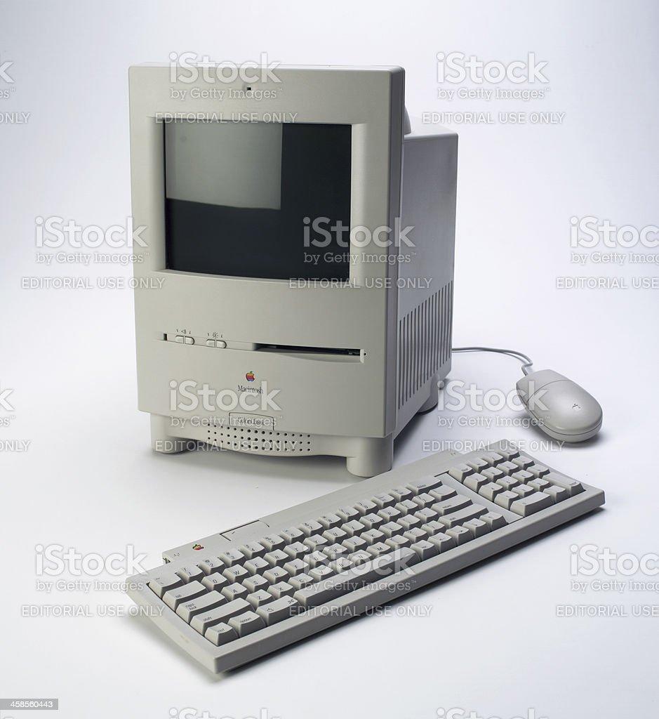 Mac color classic stock photo