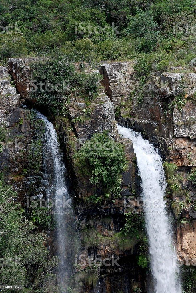 Mac Waterfall stock photo
