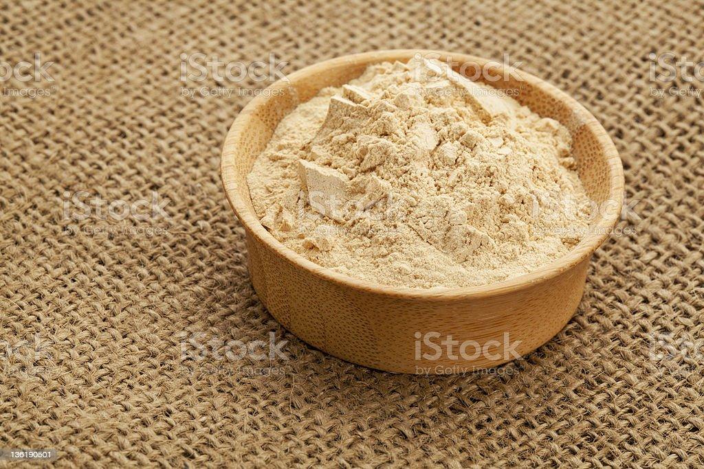 maca root powder royalty-free stock photo