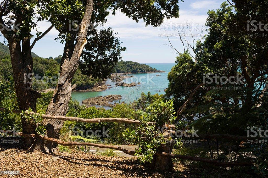 Macadamia Bay royalty-free stock photo