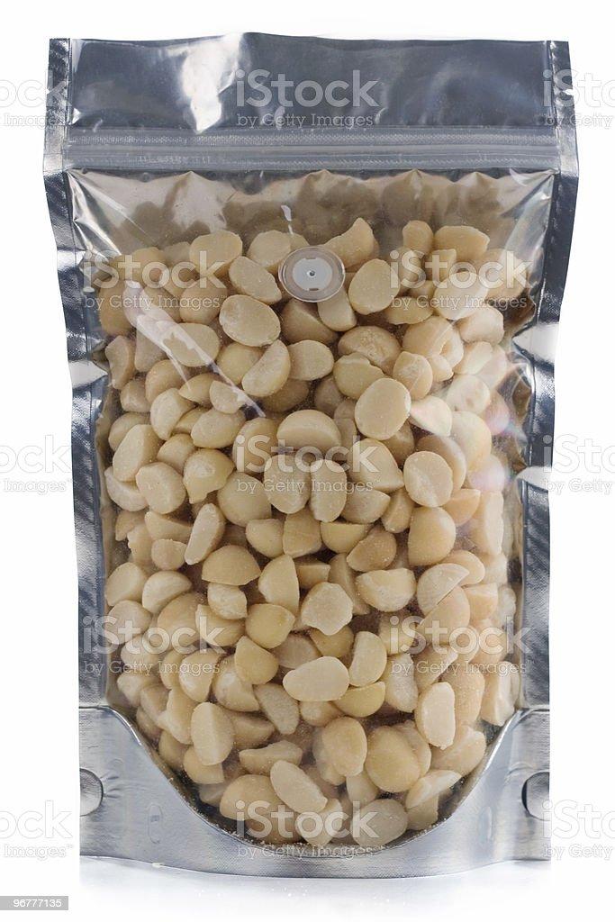 Macadamia Nuts royalty-free stock photo