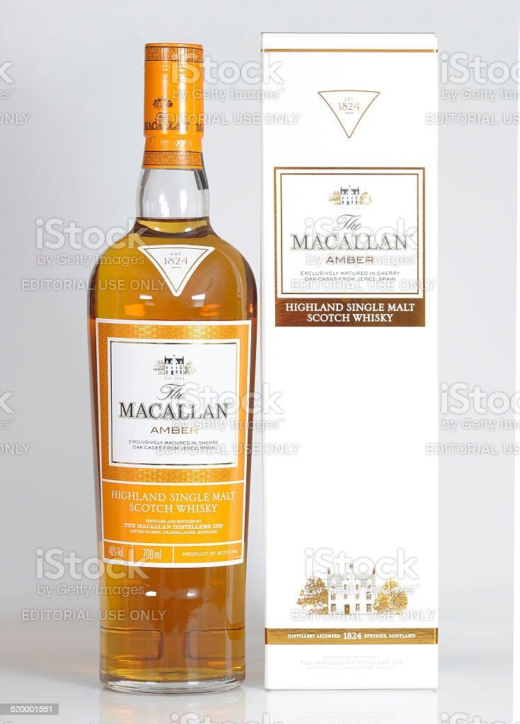 Macallan Amber stock photo
