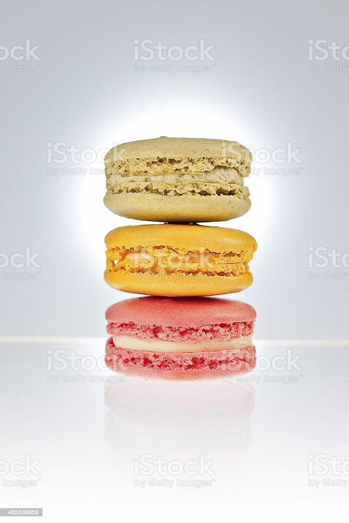 Macaron, Pâtisserie, Entremets, Tradition française,  \t \t \t \t \t \t \t \t \t \t Macaron, Pâtisserie, Entremets, Tradition française, Biscuit stock photo