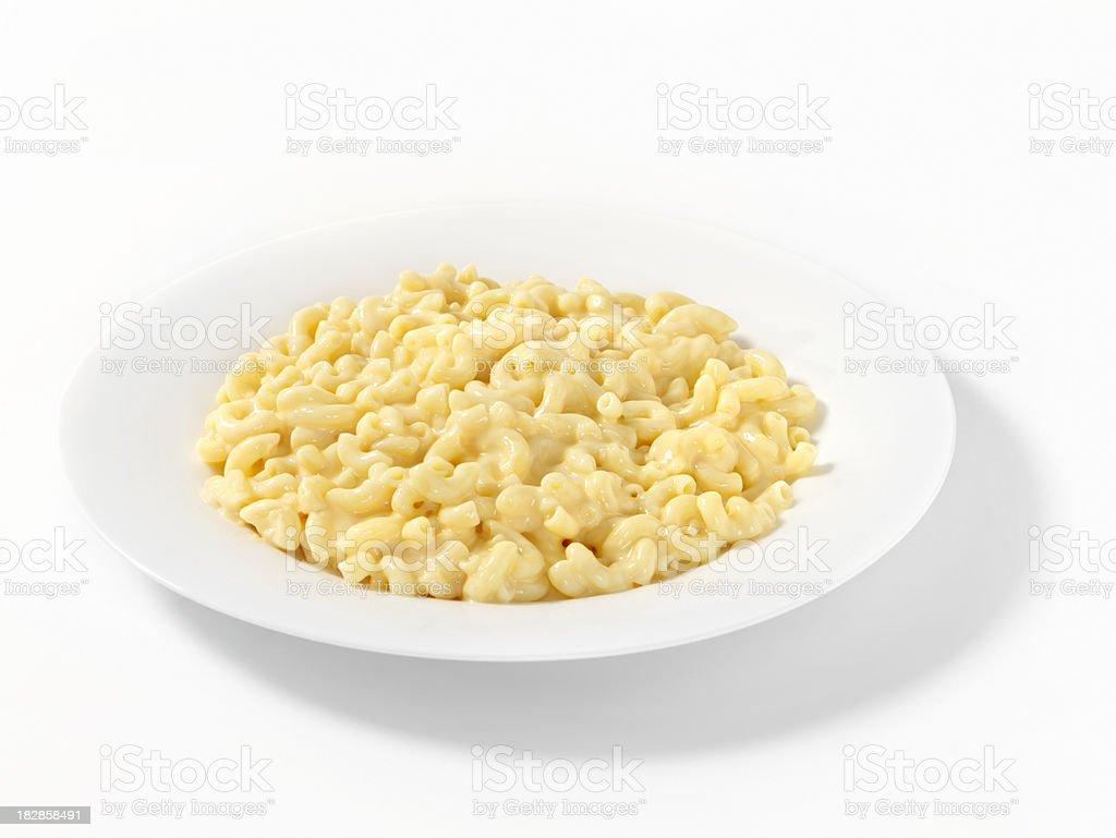 Macaroni and Cheese royalty-free stock photo