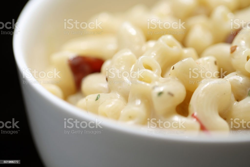 Macaroni and Cheese stock photo