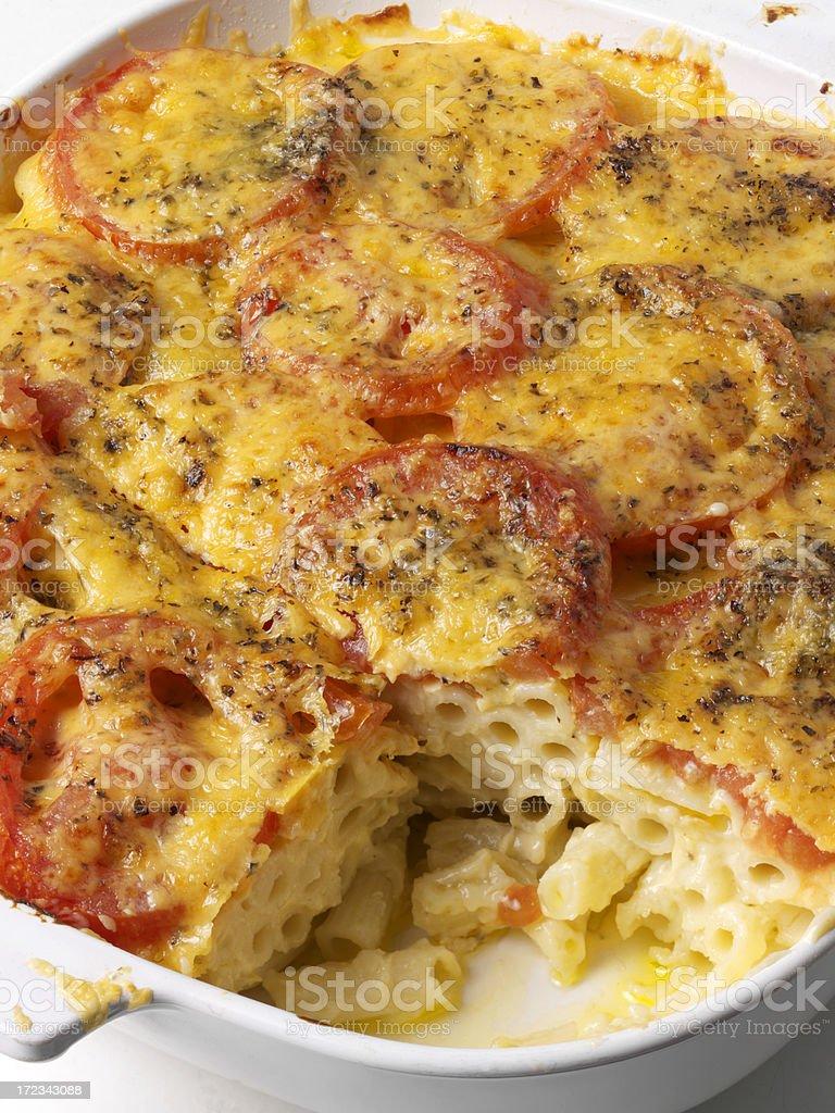 Macaroni Cheese royalty-free stock photo