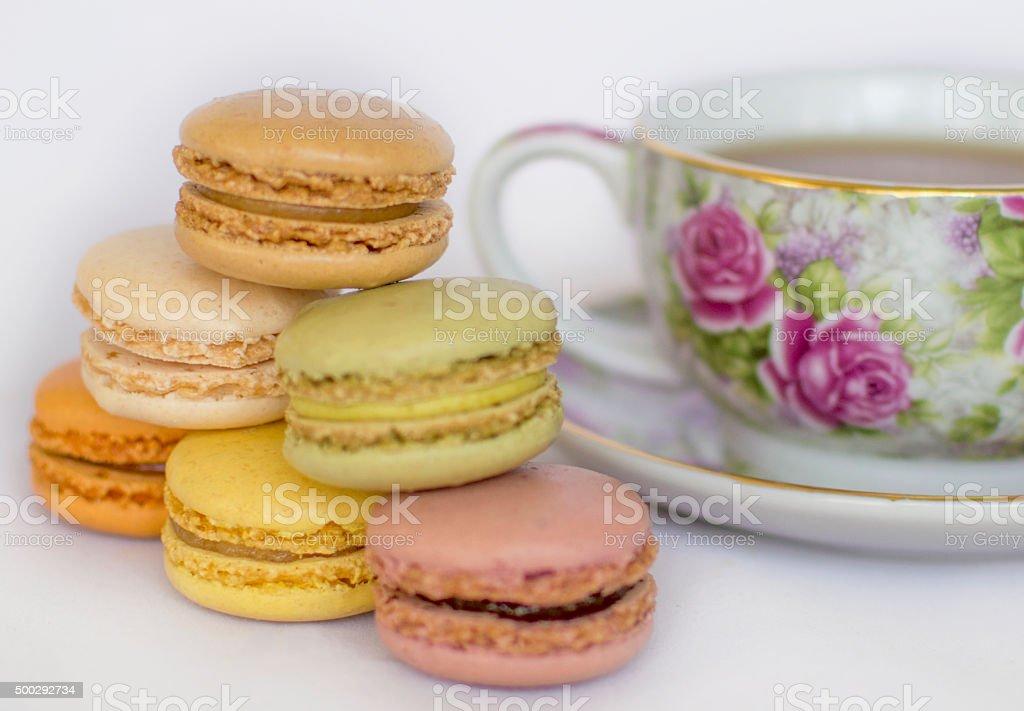 Macarons. stock photo
