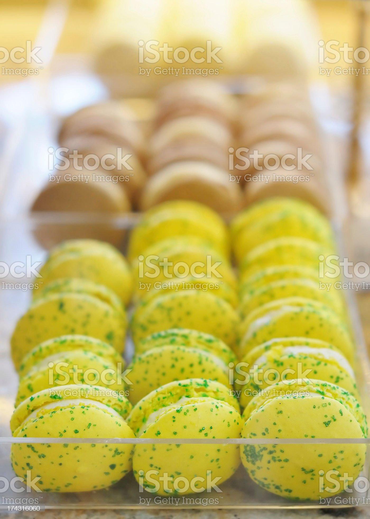 Macaroon cookies royalty-free stock photo