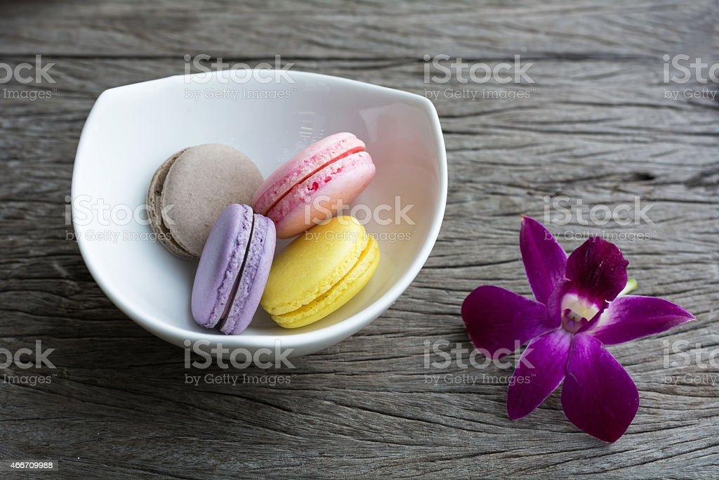 Macaroons stock photo