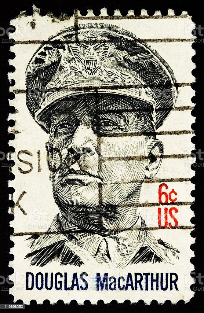 MacArthur 1971 stock photo