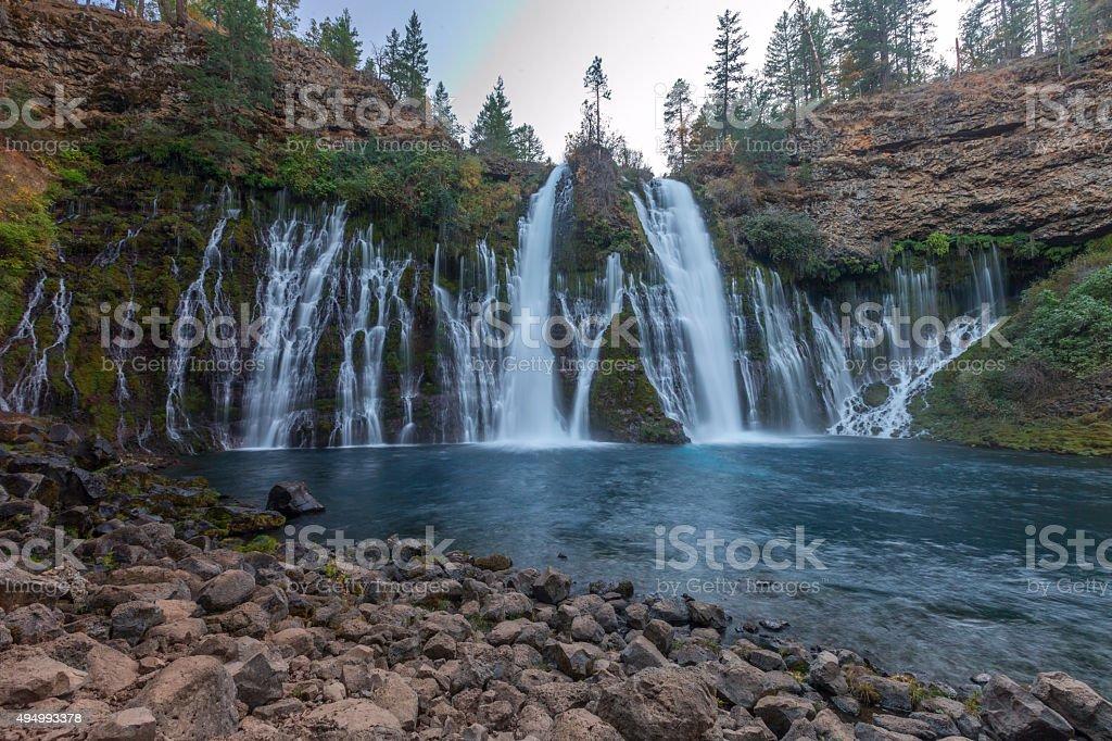 MacArthur Burney Falls in California stock photo