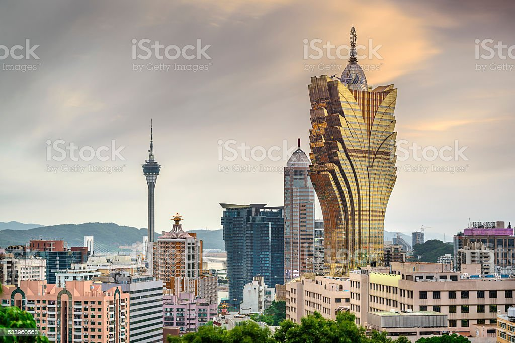Macau, China Cityscape stock photo