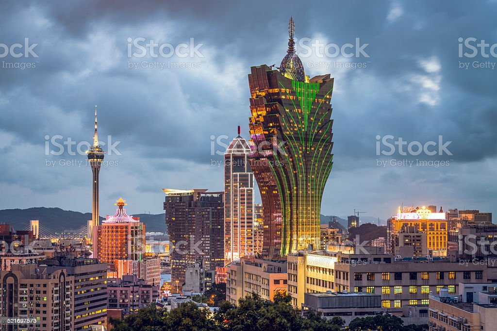 Macau, China stock photo