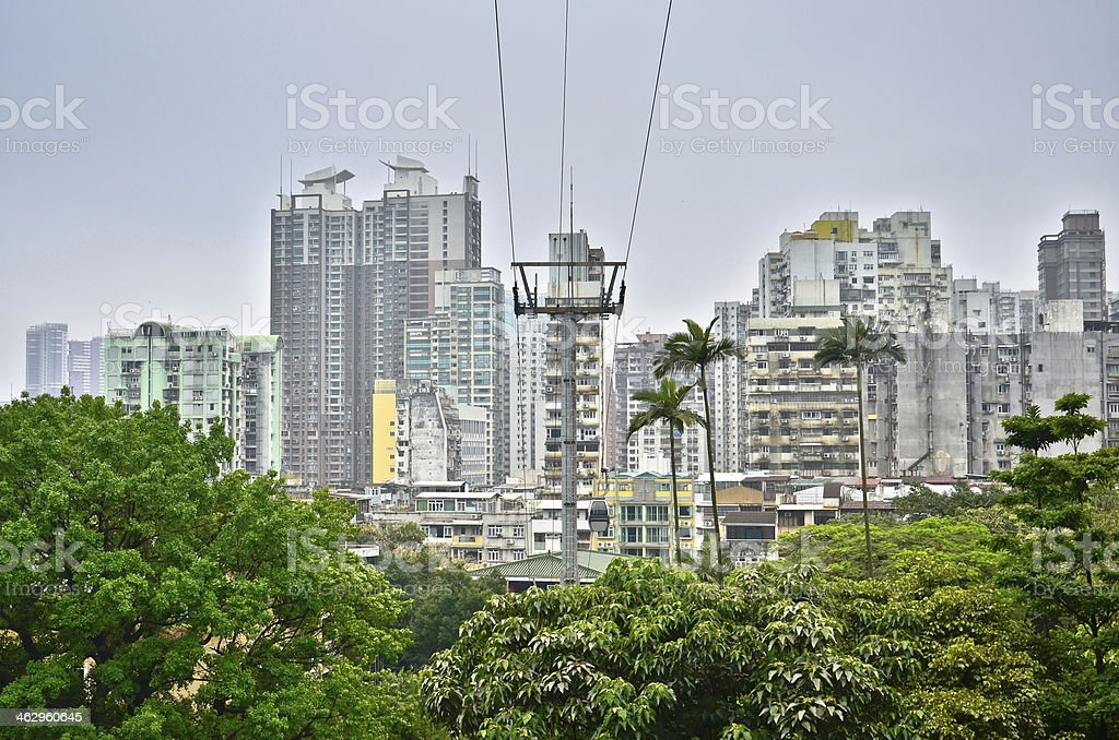 Macau cityscape royalty-free stock photo