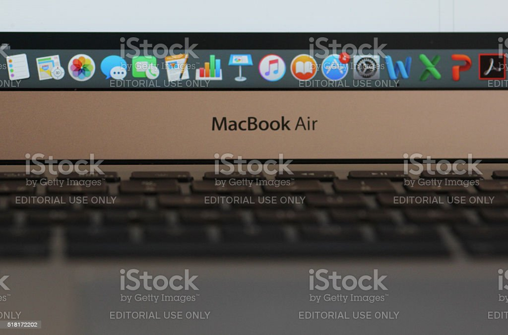 MacBook Air stock photo