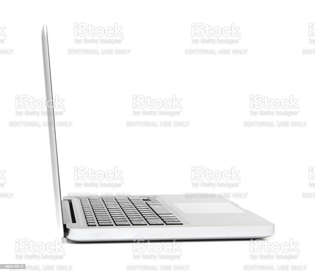 Macbook stock photo